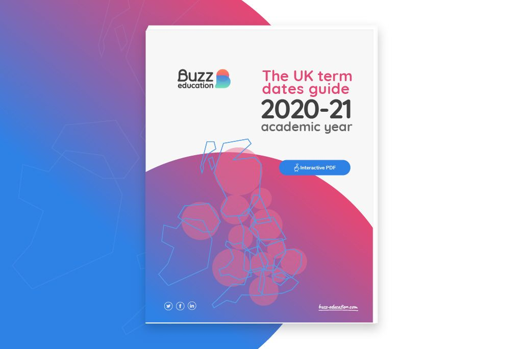UK term dates guide <br>2020-21