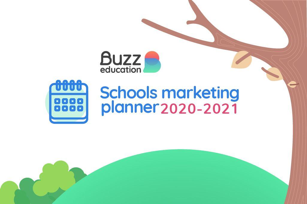 Schools marketing planner 2020-21